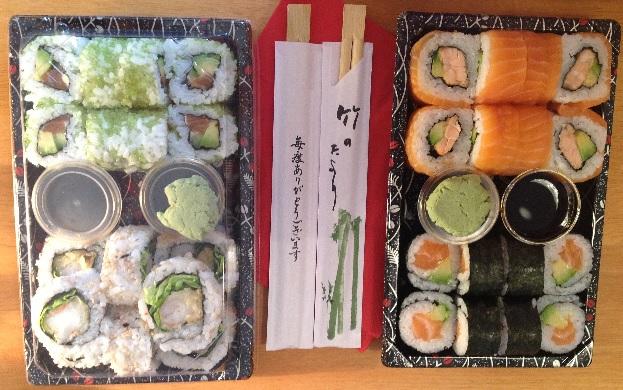sushi prazanka