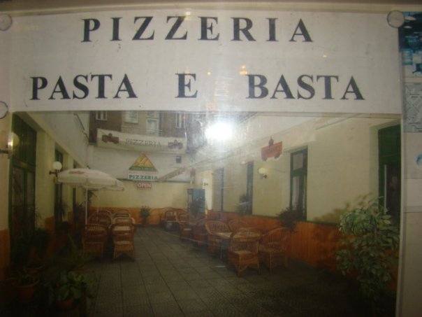 Русская пиццерия в Праге