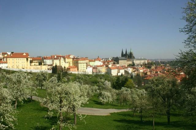 Петринские сады в Праге