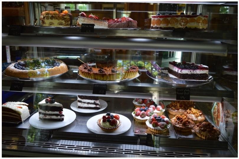 Петржинское кафе десерты в Праге