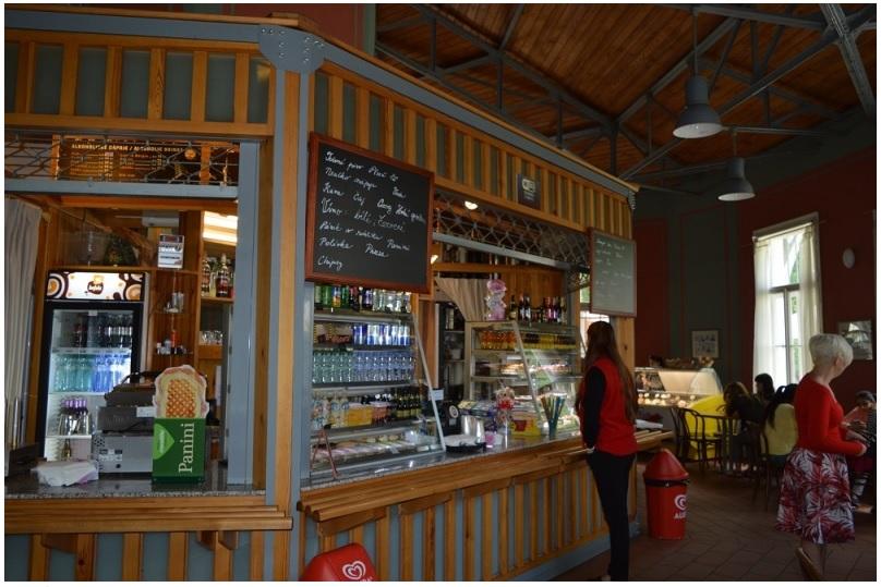 Петржинское кафе в Праге