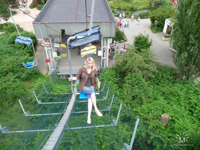 фуникулер в Пражском зоопарке