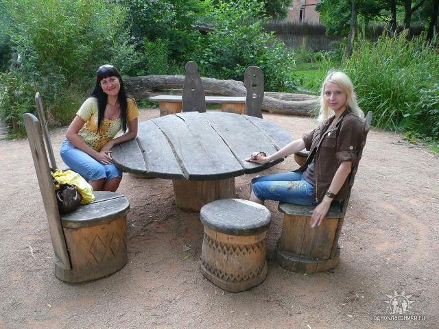пражский зоопарк столики