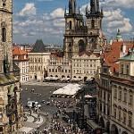 староместкая площадь в Праге
